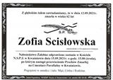 Zofia Scisłowska