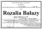 Rozalia Bałazy