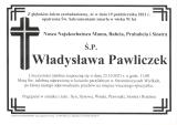 Władysława Pawliczek