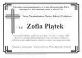 Zofia Piątek